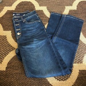 Button fly Old Navy power jeans